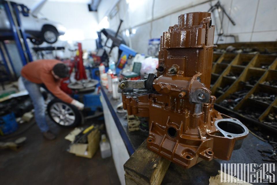 Восстановление и покраска двигателя