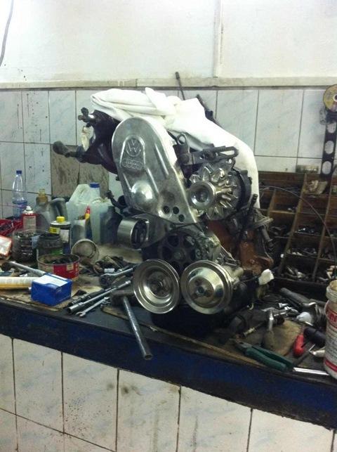 Восстановление и покраска двигателя. Хромирование деталей