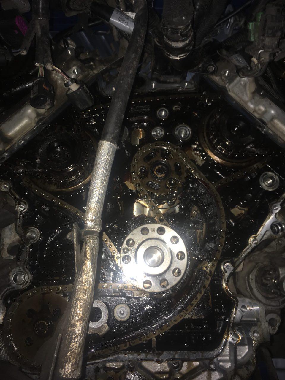 Замена цепи ГРМ Audi 3.2 (CALA)